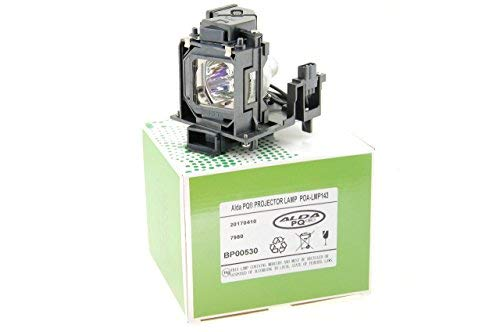 Alda PQ-Premium, Beamerlampe / Ersatzlampe kompatibel mit 610-351-3744, LMP143 für SANYO PDG-DWL2500, PDG-DXL2000, PDG-DXL2000E, PDG-DXL2500, PT-CW230, PT-CX200 Projektoren, Lampe mit Gehäuse