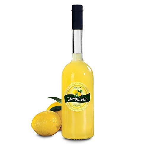 Hagen Grote Limoncello, original italienischer Zitronenlikör, aus aromatischen Zitronen, für köstliche Cocktailrezepte oder als Digestif