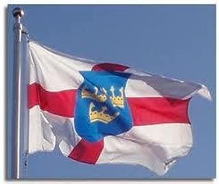 Flag Co 5Ft X 3Ft East Anglia Anglian Material Flag