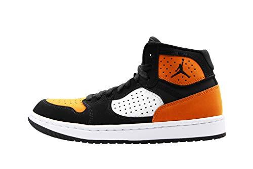 Nike Jordan Access, Zapatillas de Baloncesto para Hombre, Negro (Black/White-Starfish 008), 44 EU