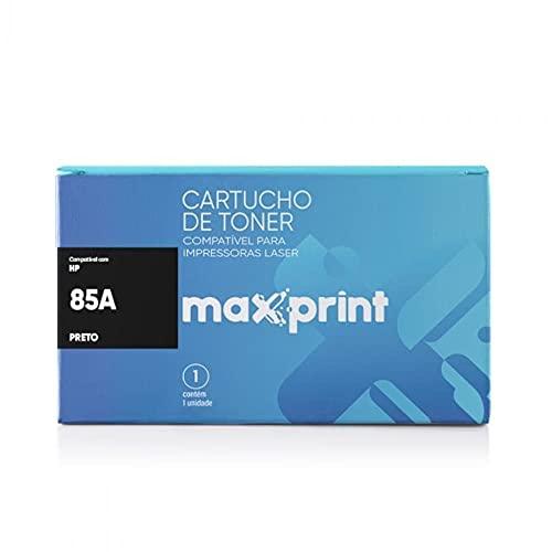Maxprint CE285A, Cartucho de Toner Compatível HP No.85A, Preto