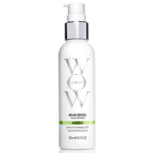 COLOR WOW Dream Cocktail Kale Infused Leave-In Treatment, Reduces Hair Breakage, Strengthening Treatment, 6.7 Fl Oz