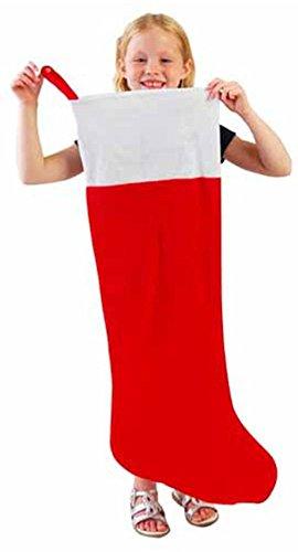 U.S. Toy One Red & Jumbo Bianco Oversize Felt...