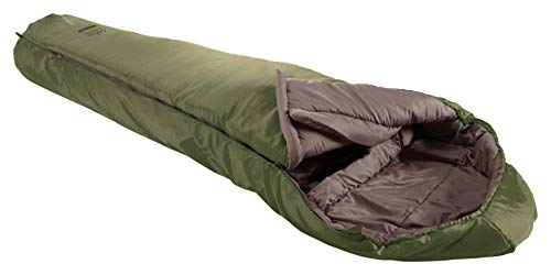 Grand Canyon Fairbanks 190 Mumienschlafsack - Premium Schlafsack für Outdoor Camping - Limit -4° - Capulet Olive