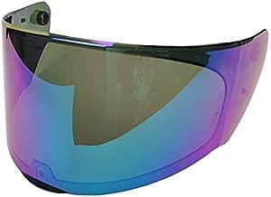 LS2 FF353 Rapid Helmets Visor FF328 Stream EVO Crypt Graphic Full Face Motorcycle Helmet Visor Replacement Helmet Face Shield 4 Colors (Rainbow)