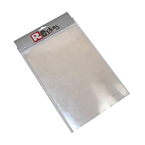 Afdichtingsmateriaal afdichting aluminium A4 0,35 mm voor motorfiets, mofa, mockic, roller, quad, reparatie, benzine, motorafdichting, vintage oldtimer afdichtingspapier.
