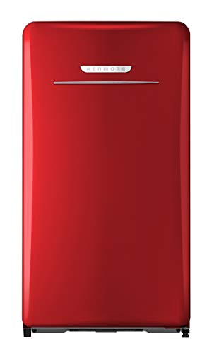 Kenmore 99091 Compact refrigerator, Red