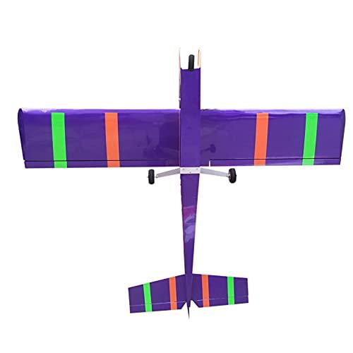 Aereo Modello RC, Volo Calmato Sport, 40 ad Ala Alta 61 Pollici 46E in Legno Telecomando Trainer Aereo, aliante per Aereo RC, Modello RC Aereo