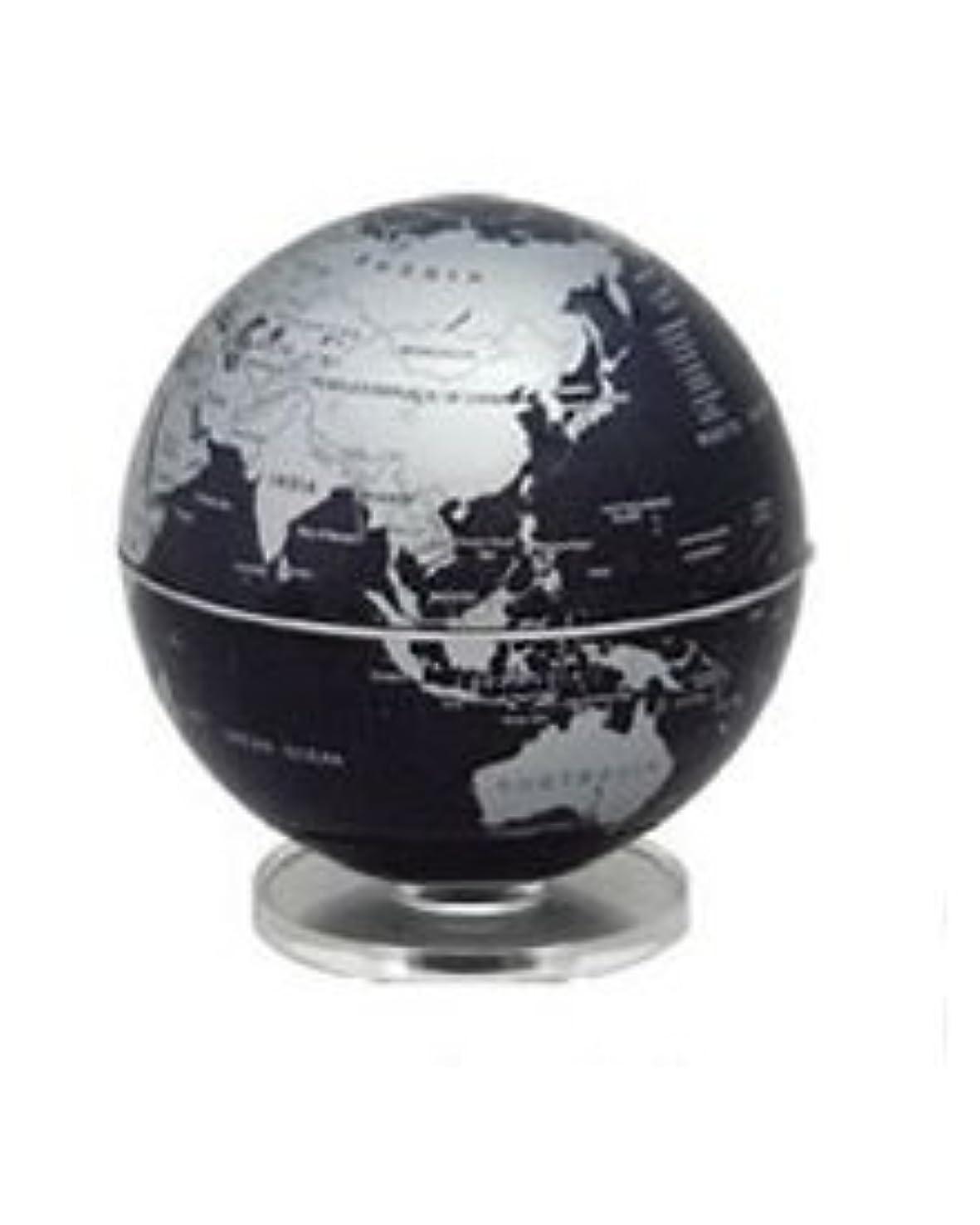 段階ミル誤解を招く回る地球儀 LED REVOLVING GLOBE(単3電池別売)