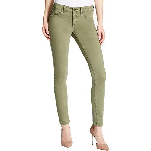 Jessica Simpson Women's Kiss Me Skinny Jeans, deep Lichen Green, 27