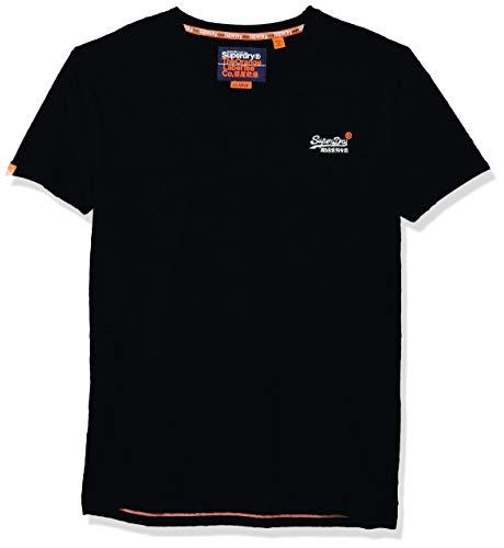 Superdry Men's T-Shirt, Eclipse Navy, XXX-Large