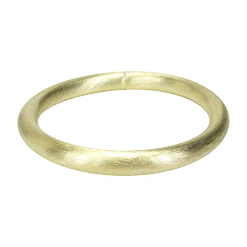 Sheila Fajl Everybody's Favorite Tubular Brush Bangle in Gold Plated