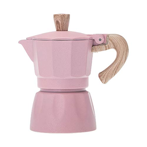 LINhuahua Mokkakanne Espressokocher Herdplatte Kaffeekanne Kaffeebereiter Edelstahl für Küche Home Office