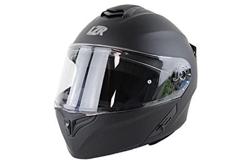 Marushin Motorrad Helm Lazer - FlipUp MH-6 - matt schwarz, Größe: XS bis XXL, Helmgröße:XXL