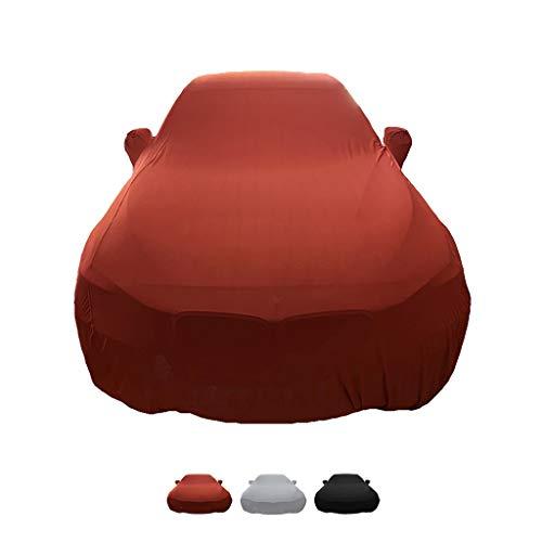 HWHCZ Autoplanen Kompatibel mit Autoabdeckung BMW 2er, Autohaube aus elastischem Stoff, for den Innenbereich, speziell for die Automobilausstellung (Color : A, Size : M240i)