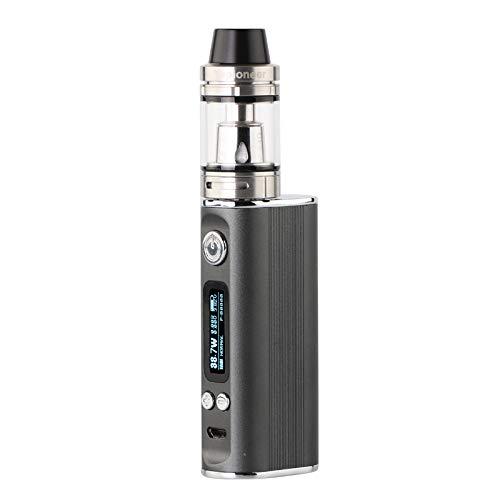 Vapioneer® Vision Grau | E-Zigarette 5-80 Watt Leistung | E-Shisha mit 2ml Tankinhalt für Liquid | Dampfer mit 2600mAh Akku | Verschiedene Modi | Ohne Nikotin