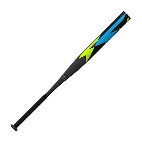 EASTON FIRE FLEX IV Mid Load USSSA Slowpitch Softball Bat | 34' / 27 oz | 2020 | 13.5' Barrel | 2 Piece Ultra Elongated Carbon Fiber Construction | ConneXion | Zero Carbon Handle | SP20FF4ML