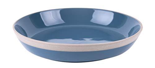 Present Time Assiette à petit-déjeuner Brisk23,5 cm en terre cuite Bleu
