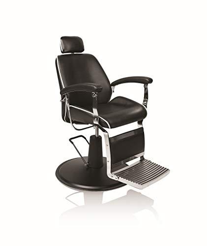 Fauteuil barbier avec repose-pieds et pompe hydraulique Hair Valence