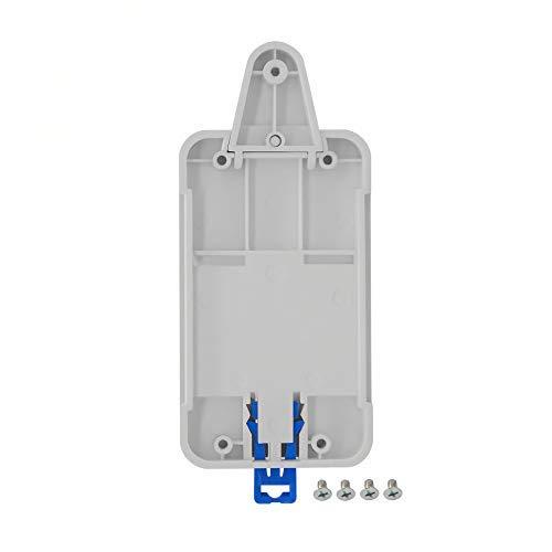 Sonoff Bandeja de riel DIN para Interruptor de Control Remoto WiFi Sonoff Basic RF Pow TH10 TH16 Dual Soporte de Caja de riel montado Ajustable