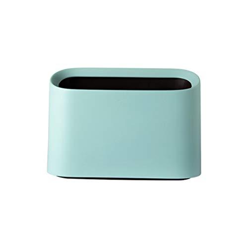 VICKY-HOHO Mülleimer, Trompete Desktops Mini Mülleimer Kreative überdachte Küche Wohnzimmer Küche Esstheke