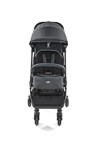 Joie Pact Flex LFC Pushchair/Stroller, Black Liverbird Joie Suitable from birth with flat reclining seat Lightweight chassis, with easy and compact fold Pairs perfectly with Joie Gemm, i-Gemm, i-Snug and i-Level car seats 2