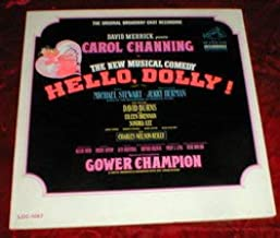 The Original Broadway Cast Recordings. David Merrick presents Carol Channing in The New Musical Comedy Hello,Dolly! On the RCA Label. LOC-1087