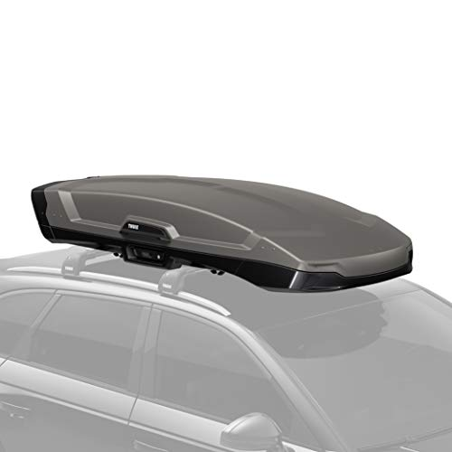 Thule Vector Rooftop Cargo Box, Medium, Titan Matte