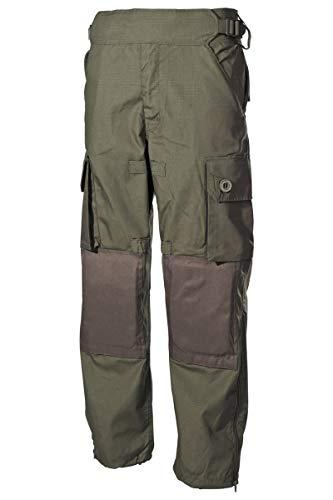 MFH US Kommandohose Smock RipStop Jägerhose Freizeithose Feldhose Outdoorhose verschiedene Ausführungen (M, Oliv)