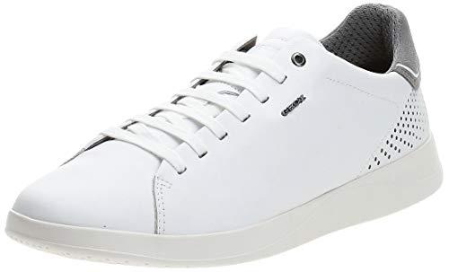 Geox U KENNET B, Zapatillas Hombre, Blanco (White C1000), 41 EU