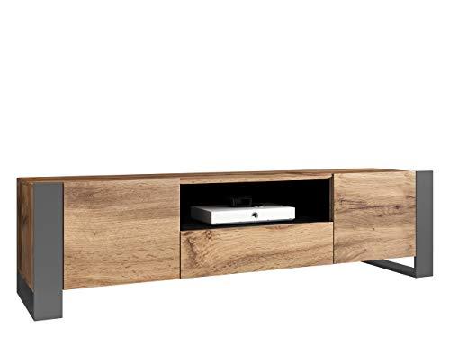 sideboard 200 cm grau