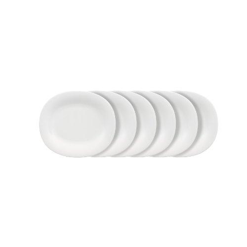 Villeroy & Boch New Cottage Basic - Platos de desayuno (6 unidades, ovalados)