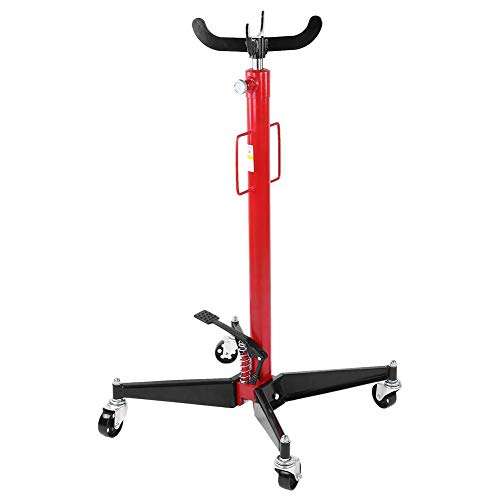 Big Save! Hydraulic Transmission Jack High Lift, 1100 Lbs Hydraulic High Lift Foot Pump Spring Loade...