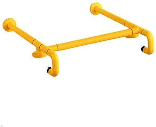 LIUYULONG Badewannengriff, Duschstangen, sicherer Handlauf, Barrierefrei, Waschtisch, Badezimmer, Toilette, ältere Menschen, Behinderte, Waschtisch, Hilfswerkzeug (Farbe: gelb)