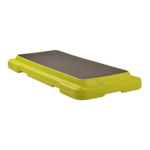 PUFITNESS Gym Aerobic Step 108cm Longitud Antideslizante Gym Stepper Board Fitness Exercise Board Cubierta de Paso (Color : Verde, tamaño : 108cm)
