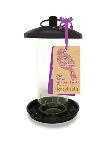 Honeyfields 71485197 Hanging Wild Bird Nyjer Feeder, Urban Garden Design in...