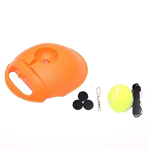 QKFON Tennis Trainer Set met Rebound Ball Zelfstudie Tennis Oefening Training Tool Tennis Training Apparatuur voor Solo…