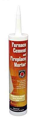 MEECO'S RED DEVIL 122 Furnace Cement and Fireplace Mortar