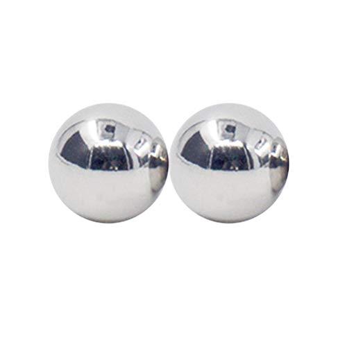 Amosfun 2 Stücke Metall Magnetische Nippel Schamlippen Klitoris Magnetkugeln Spielzeug für Paare Liebhaber