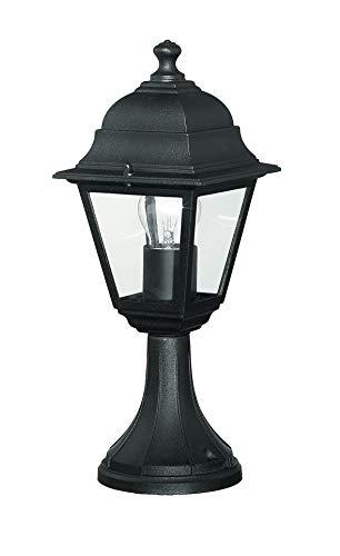 F.A.N. EUROPE Lighting LANT-PALETTO iluminación al aire libre Alumbrado de sobremuro/pie para exterior Negro E27 40 W Halógeno - Iluminación al aire libre (Alumbrado de sobremuro/pie para exterior, Negro, IP43, 1 bombilla(s), E27, 40 W)