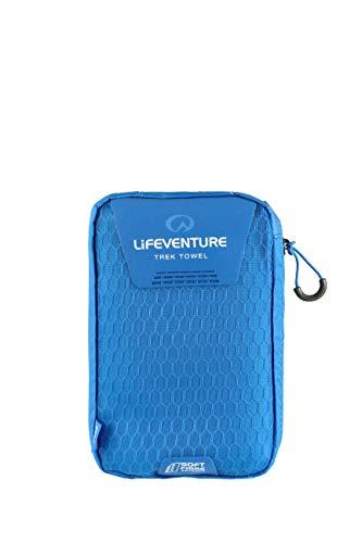 Lifeventure 63031 SoftFibre Advance Trek Towel - Large (Blue) Unisex-Adult