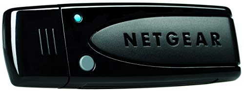 Netgear WNDA3100 Dual Band N600 1.1 2.0 USB WiFi Wireless Adapter, Black (WNDA3100v3)