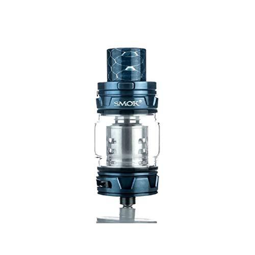 Smok - TFV12 Prince Atomizzatore sub-ohm per sigaretta elettronica in acciaio inox, diametro 28 mm, capacità liquido 8 ml, attacco 510 (Blue)