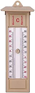 Max Min Thermometer,Indoor Outdoor Garden Thermometers Greenhouse Wall Temperature Monitor-40 to 50℃