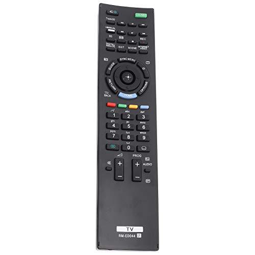 FOLOSAFENAR Sin programación Smart Television Reemplazo de transmisión de 8 m Control Remoto Universal Reemplazo de TV, para Smart TV, para Sony RM-ED044, para Sony TV