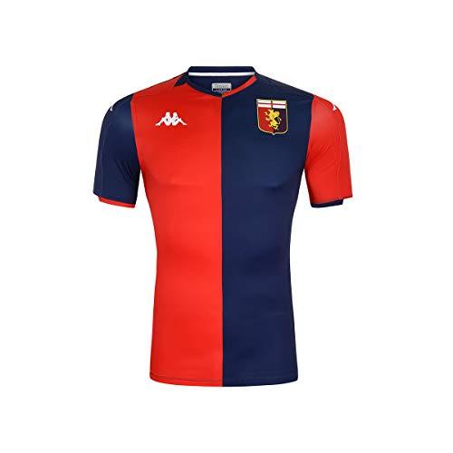 Kappa 2019-2020 Genoa Home Football Soccer T-Shirt Trikot