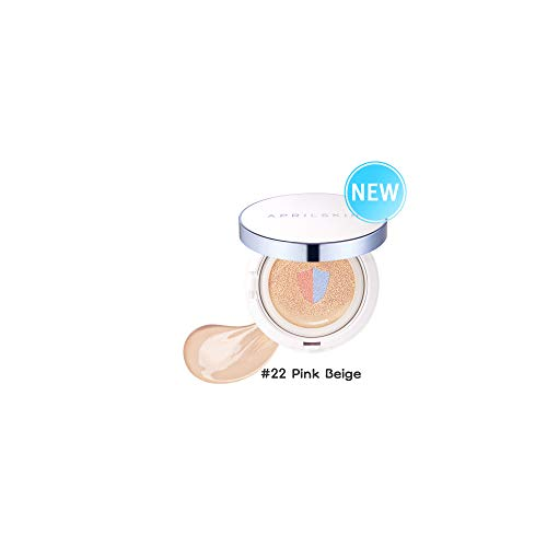 [APRILSKIN] Perfect magic cover proof cushion 11g (SFP50+/PA+++) (03#22 Pink Beige Cushion 11g)