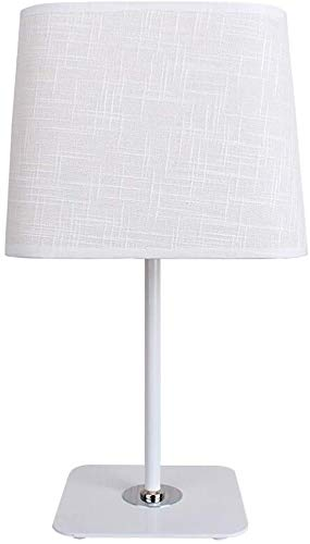 Lámparas de mesa para sala de estar Lámpara de escritorio Lámpara de estar Casa Tela Lámpara de mesa Lámpara de noche de la noche para la iluminación del hogar para la oficina para el dormitorio y la