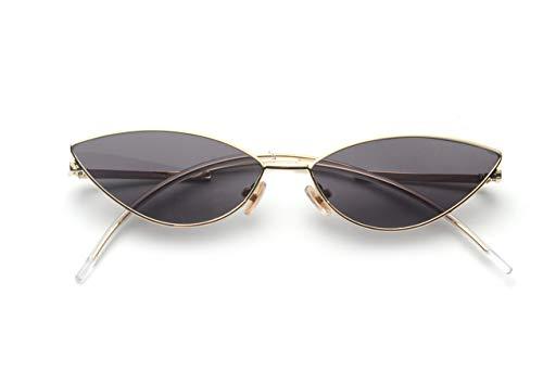 FEISEDY Fashion Designer Sunglasses Retro Small Petals Shape Arc Temple Design B2298