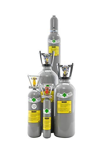 CO2 Flasche, gefüllt mit Kohlendioxid E290, lebensmittelgeeignet (10 kg Getränke Kohlensäure (kurz))
